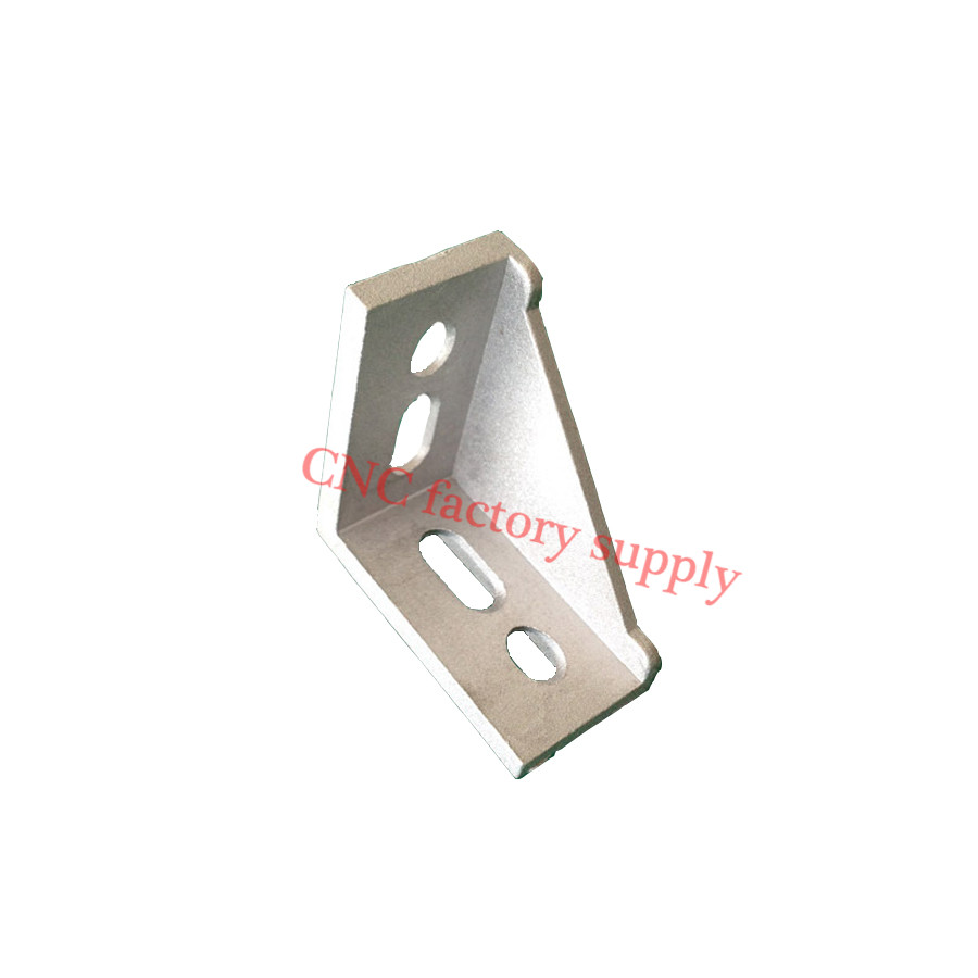 HOTSale 5pcs 3060 corner fitting angle aluminum L type connector bracket fastener match use 3030 industrial aluminum profile(China (Mainland))