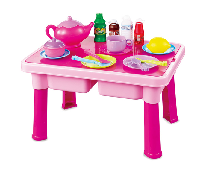 Kitchen toys free shipping new baby toy hot selling child for Toy kitchen table