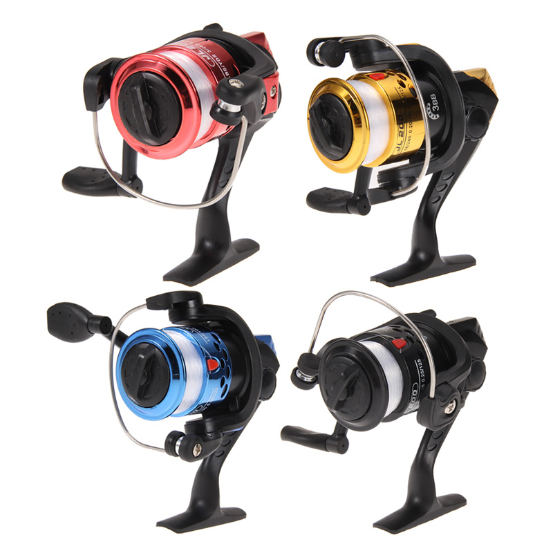 Free shipping Aluminum Body Spinning Reel High Speed G-Ratio 5.2:1Fishing Reels with Line H1E1(China (Mainland))