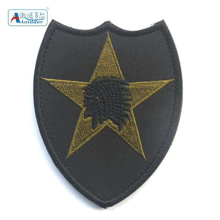 Military insignia patches velcro