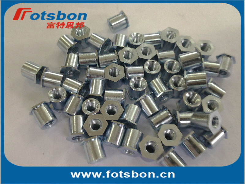 TSO-6440-500  Thin sheet t Standoffs ,Threaded standoffs for sheets thin as 0.25/ 0.63mm,PEM standard,carbon steel,zinc,<br><br>Aliexpress