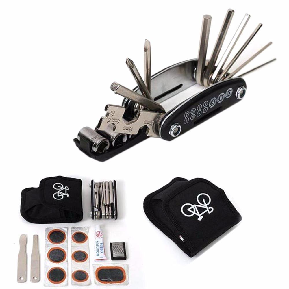 1 Set Bike Bicycle Portable Cycling Tyre Repair Kit Tool With Tool Bag New Brand(China (Mainland))