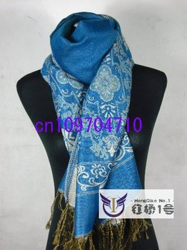New 10 pcs Pashmina Scarf/Scarves/Shawl Wrap Gift