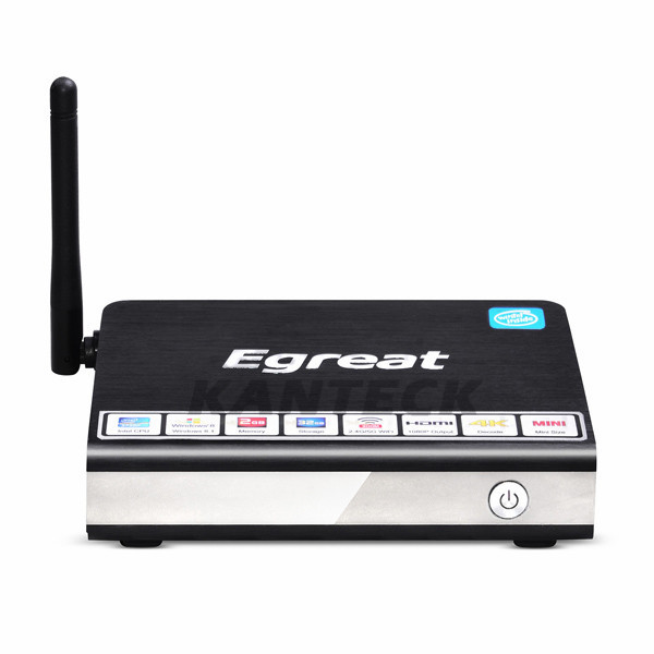 Egreat I6 Windows Mini PC Intel Z3735F Quad Core 2GB/32GB 2.4G/5GHz 300Mbps Dual WiFi HDMI VGA Smart TV Box Receiver(China (Mainland))