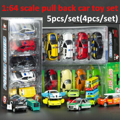 1:64 scale wholesale toys vehicles mini metal model car toys set 4 roadster door warrior pull back toys alloy diecast car model(China (Mainland))