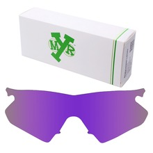 MRY POLARIZED Replacement Lenses for Oakley M Frame Heater Sunglasses Plasma Purple