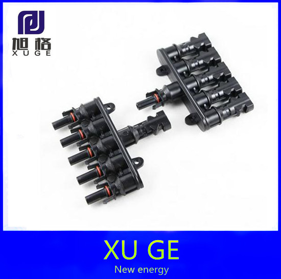 1Pairs x MC4 5T Connector male and female, MC4 5 Branch Solar Panel Connector used for Solar module parallel connection IP67 TUV<br><br>Aliexpress