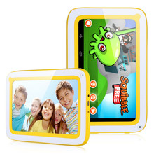 7inch kid tablet Allwinner A33 Quad-Core Android 4.4 children tablet pc WIFI dual camera 512MB 8GB games education gift for kids