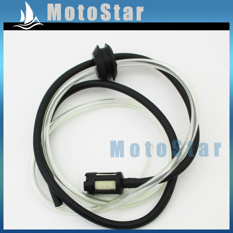 Minimoto Gas Fuel Line Hose With Filter For 33cc 49cc Scooter Cat Eye Xtreme G Scooter Pocket Bike(China (Mainland))