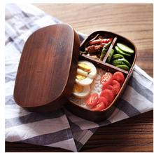 Japanese bento boxes wood lunch box handmade natural wooden sushi box tableware bowl  Food Container(China (Mainland))
