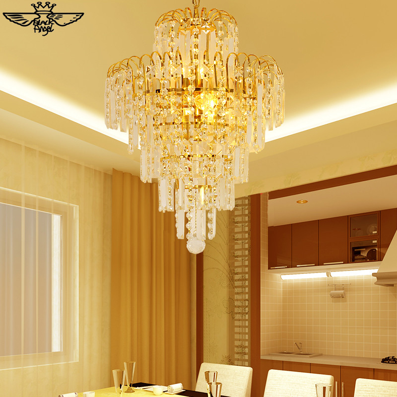 Moder Gold Crystal Chandelier light Fixture Modern Crystal Chandeliers Living Room Chandeliers Free Shipping!(China (Mainland))