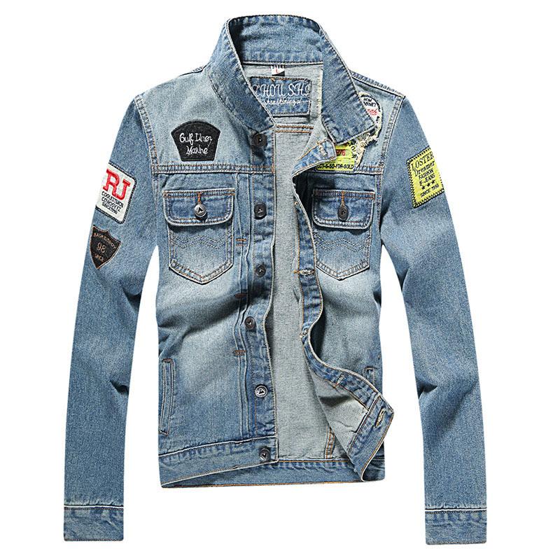 s denim jacket high quality fashion jackets slim