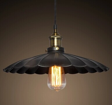 Black edison vintage filament pendant small pendant light vintage restaurant lamp bar pendant<br><br>Aliexpress