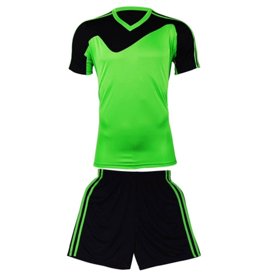 New mens boys paintless football jerseys short-sleeve soccer shirt blank football team full set uniforms kits cloth suits(China (Mainland))