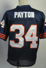 Jim McMahon WALTER PAYTON Gale Sayers Mike Singletary Dick Butkus William Perry Men's Throwback Jersey Size 48-56(China (Mainland))