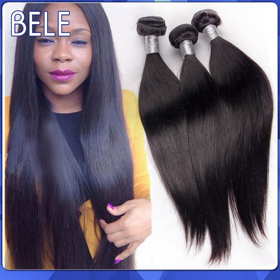 Bele Peruvian Virgin Hair Straight Human Hair Weaves 4 Bundles Peruvian Straight Hair Mocha Unprocessed Virgin Peruvian Hair(China (Mainland))