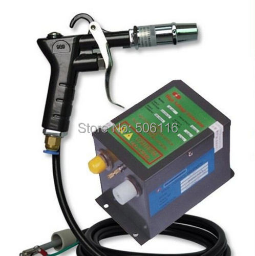 free shipping new Antistatic Air Gun Ionizing Air Gun+High Voltage Generator Electrostatic Gun(China (Mainland))