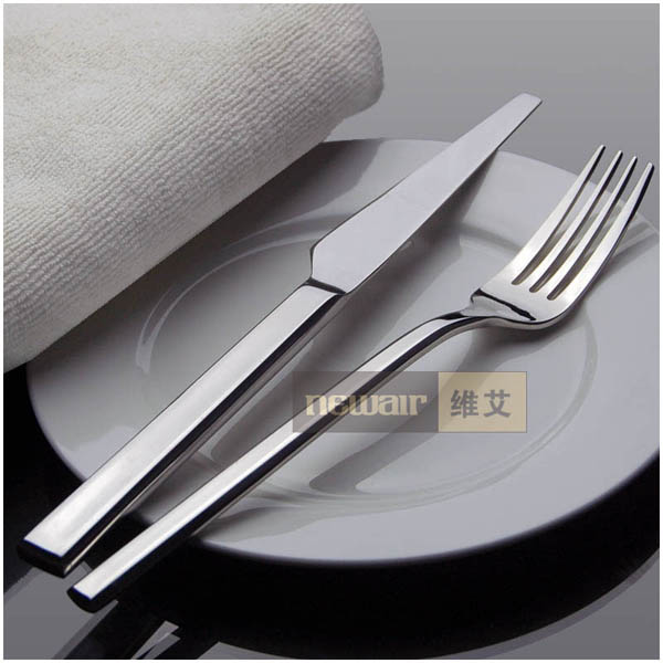 Buy kitchen, dining fashion tableware set knife and fork set cheap