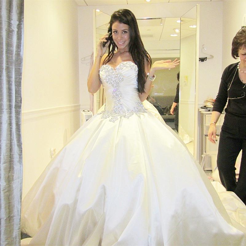 Turmec off the shoulder ball gown wedding dress for Off the shoulder ball gown wedding dress