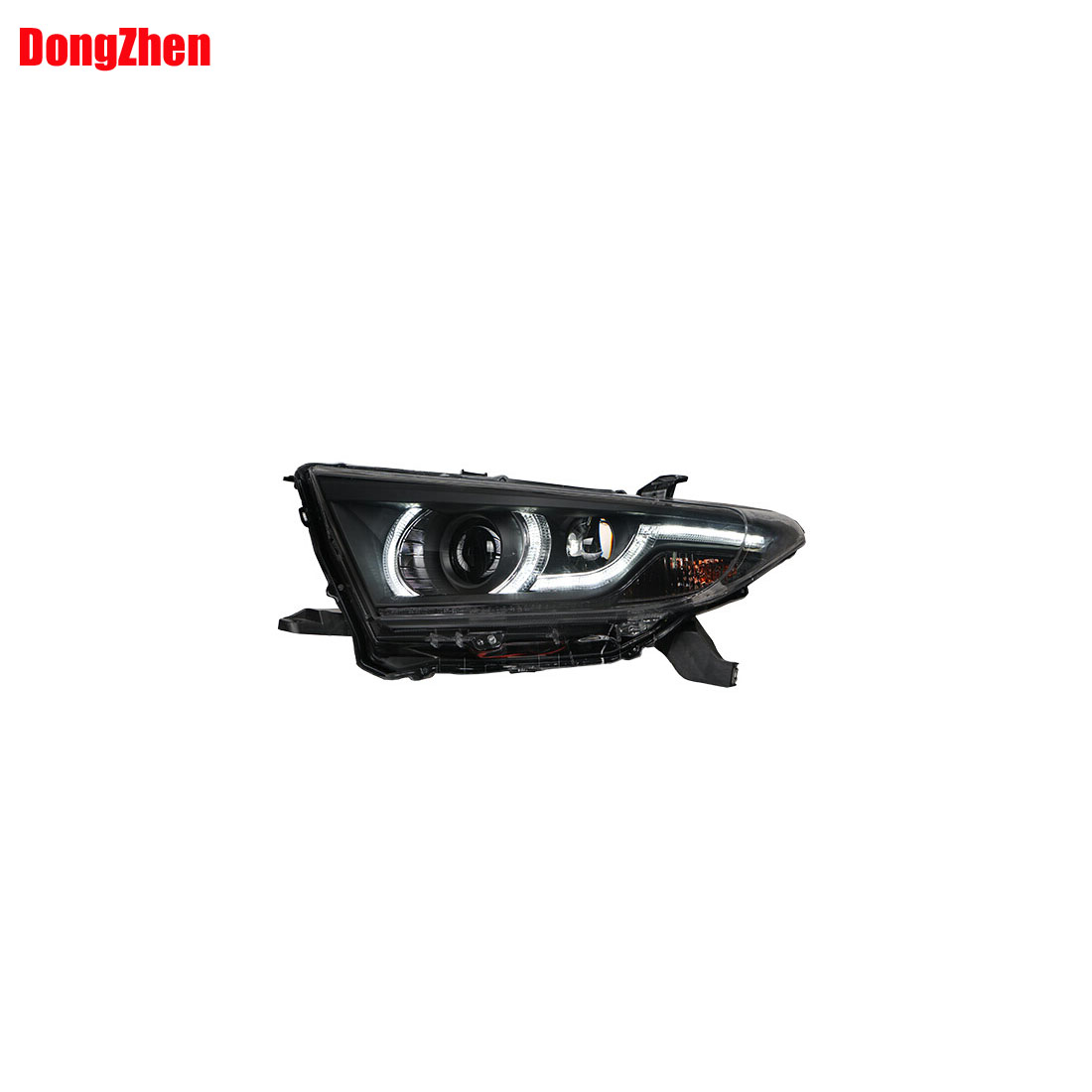 Dong Zhen Fit For TOYOTA Highlander LED Headlight Angel Eyes 2012 to 2014 car styling<br><br>Aliexpress