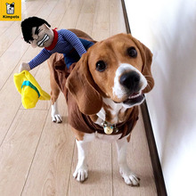 Buy Petcircle Hot Sale Dog Suit Pet Clothes Dog Clothes Pet Cowboy Horse Riding Clothes Dog Costume Novelty Funny Party Pet Clothing for $9.00 in AliExpress store