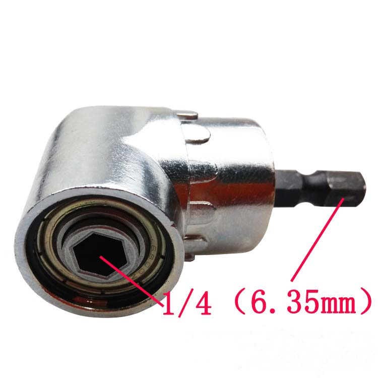 """Free Shipping New 105 degrees 1/4"""" Adjustable Hex bit Angle Driver Screwdriver tools(China (Mainland))"""