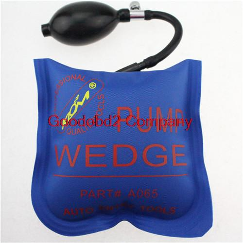 2015 Hot selling Blue KLOM PUMP WEDGE LOCKSMITH TOOLS Auto Air Wedge Lock Pick Open Car Door Lock Medium Size(China (Mainland))