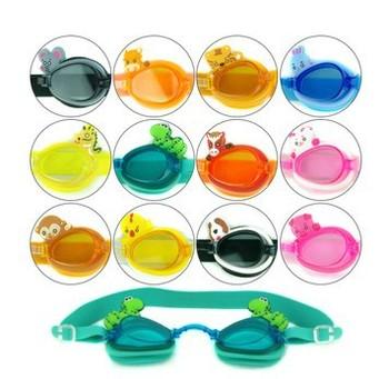 #26 child kid's Children swimming goggles eyewear soild carton style min3pcs/lot freeshipping