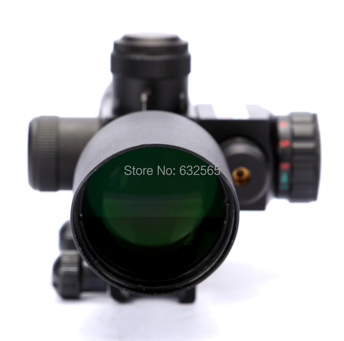Free Shipping Mini 2.5-10X40 Rifle Scope with Red Laser, Hunting Shooting Scope<br><br>Aliexpress