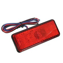 New LED Reflector Red Rear Tail Brake Stop Marker Light Truck Trailer Motorcycle(China (Mainland))