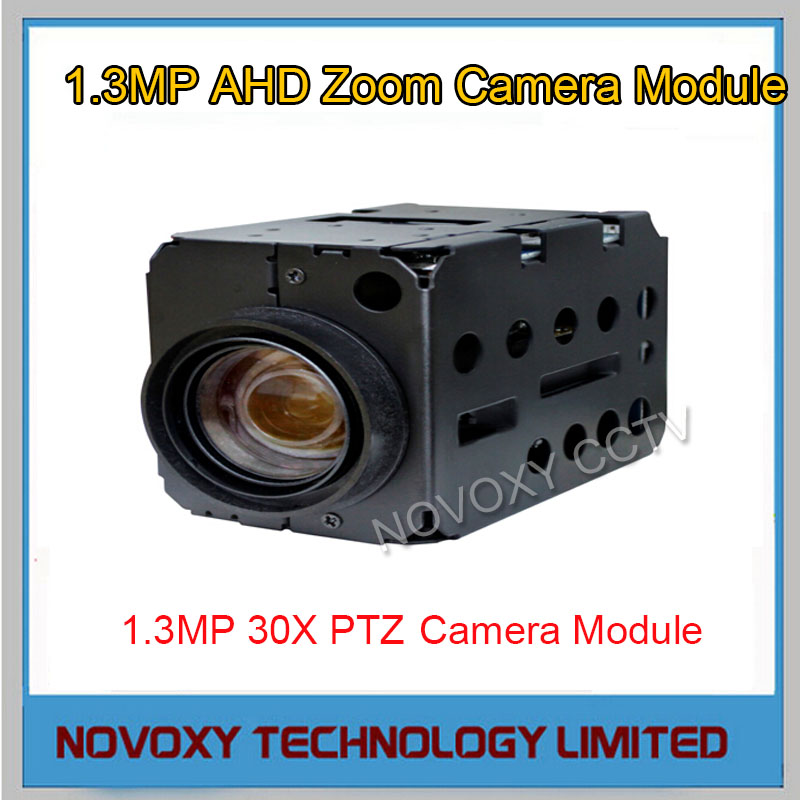 Free shipping 1.3MP AHD 30x Optical Auto Focus Digital CCTV Security PTZ Speed Dome Camera Zoom Module 3.3~99mm Lens(China (Mainland))