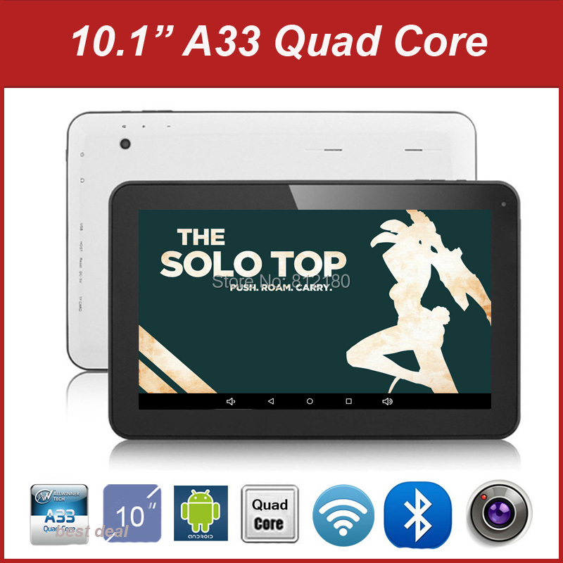 DHL Free Shipping 10 inch Tablet PC Android 4.4 A33 Quad Core 2GB RAM 16GB ROM Bluetooth Dual Camera WiFi(China (Mainland))