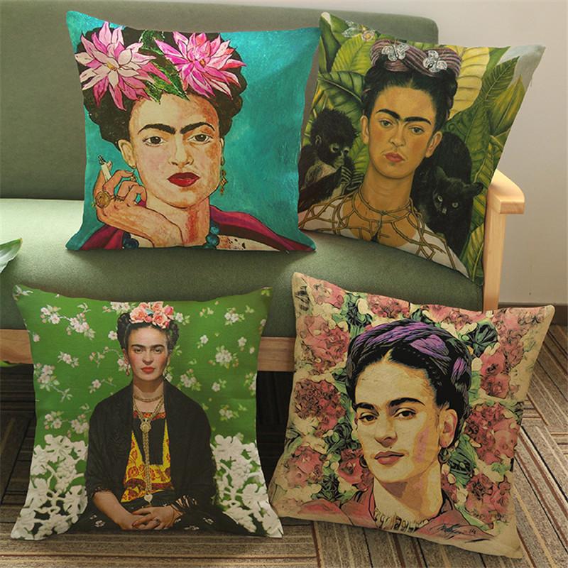 achetez en gros frida kahlo fleurs en ligne des. Black Bedroom Furniture Sets. Home Design Ideas
