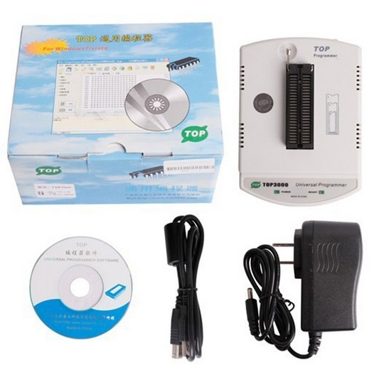 high quality TOP3000 Universal Programmer for MCU and EPROMs programming TOP 3000 USB Universal ECU Chip Tunning support(China (Mainland))