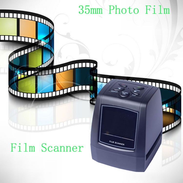 High Quality HD 5 Mega Film Negatives Slides Scanner 1800dpi Precison TM Lens TV Out Digital Film Converter Free Shipping(China (Mainland))