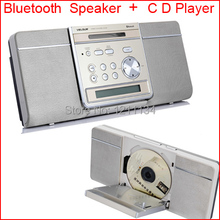 Classical radio cd machine alarm clock bluetooth music system  multifunction speaker