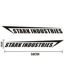 shield Stark Industries car styling Car side door stickers and Decal for Chevrolet cruze Volkswagen Honda