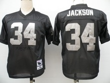 Stitiched,Oakland Raider,Jim Otto,Kenny Stabler,Jim Plunkett,Jack Tatum,Marcus Allen,Bo Jackson,Ronnie Lott,Howie Long,T.Brown(China (Mainland))