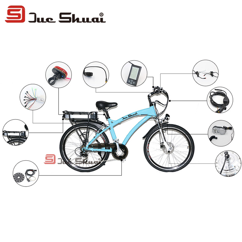 Whole Set Refit Kit 36V 10Ah Carrier Battery Suit 350W LCD Display Electric Bike Conversion Kit Controller Throttle Motor Wheel<br><br>Aliexpress
