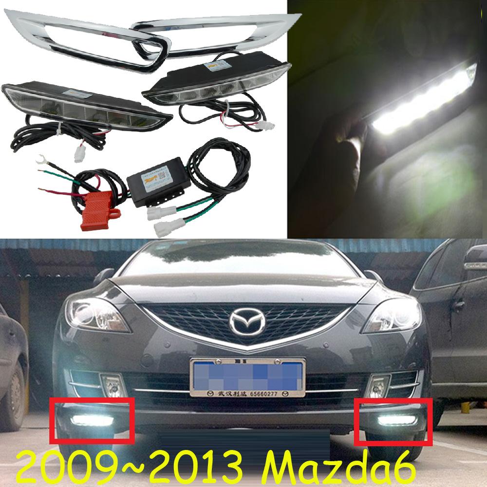 2009~2013 MAZDA6 Daytime Light, LED,Mazda6 fog light,2pcs+wire,Mazda 6,mazda6 headlight,8W 12V,6500K,Free Ship! Mazda6<br><br>Aliexpress