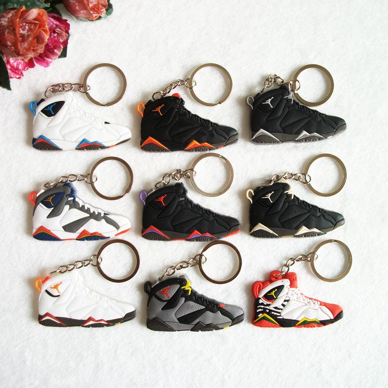 7 jordan keychain, sneaker keychain souvenirs key chain key ring women key holder,llaveros mujer porte clef porta chaves anillos(China (Mainland))
