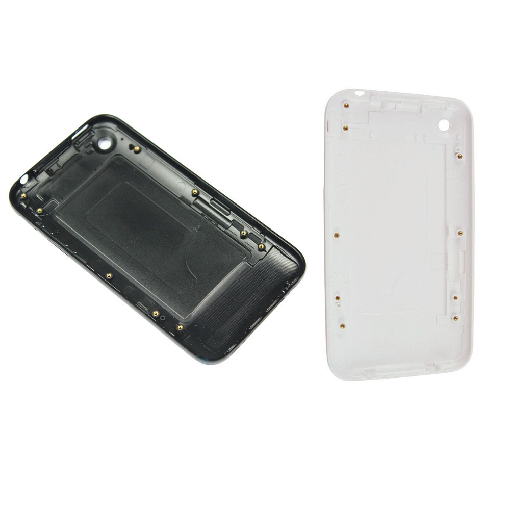 White or Black back cover housing for Apple iPhone 3G 3GS 8GB 16GB 32GB Battery Door Case(China (Mainland))
