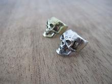 4PCS/Lot Skull Dreadlock Dread Hair Clip Beads 8mm Hole(China (Mainland))