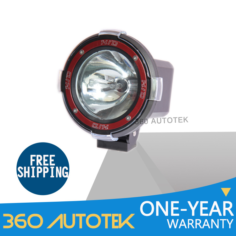 1Piece 4INCH HID Light H3 35W 12V DC Waterproof 6500k 3200LM Flood/Spot Beam Led Offroad Light For Trucks Aluminum Headlights(China (Mainland))
