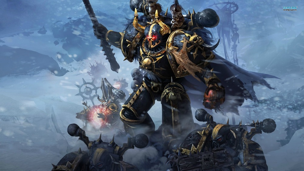 Home Decor Custom Poster Fashion Canvas Art Warhammer 40000 Wallpaper Classic Warhammer 40 k space marines Wall Sticker PN-957#(China (Mainland))