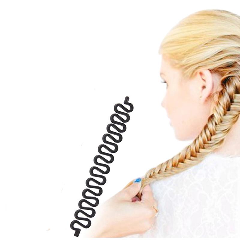 Fashion Hair Braiding Braider Tool Roller With Magic Hair Twist Styling Bun Maker Hair Accessories Braids(China (Mainland))