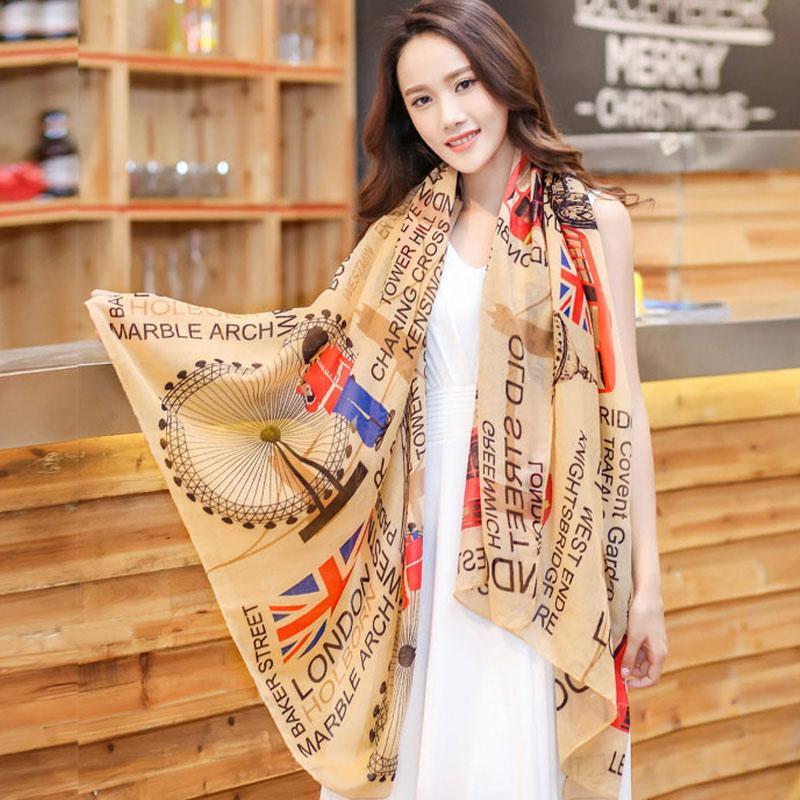 Women's Fall Fashion Silk Scarf Scarves Women Z-1608()