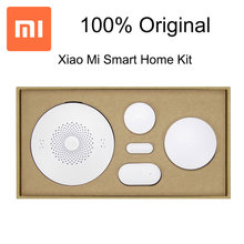 Original Xiaomi Smart Home Kit ,Wireless Switch Human Body Sensor Door and Window Sensor+Playing Methods Home Automation System