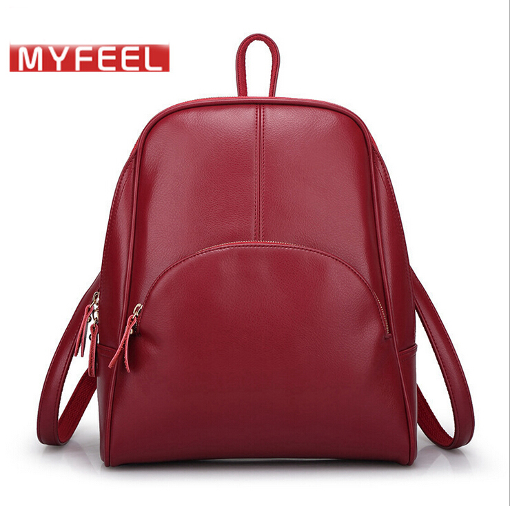 50%OFF New! Excellent Brand Women Bag Genuine Leather Backpack ...