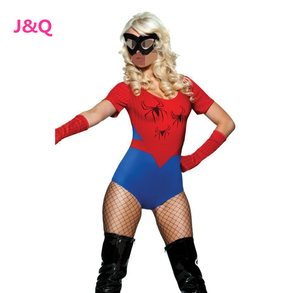 spider woman costume kaufen billigspider woman costume. Black Bedroom Furniture Sets. Home Design Ideas